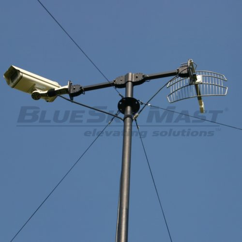 BlueSky Mast AL2 Lift Series, Portable, Military Mast System designed to support Wireless Applications